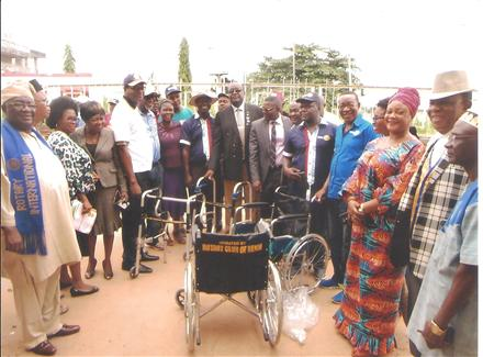 Donation of Wheel Chairs and Frame Walkers