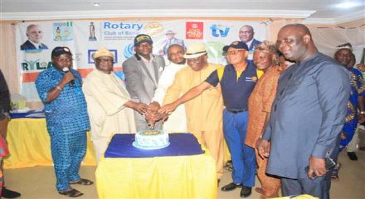 Rotary Club of Benin celebrates Fathers Day