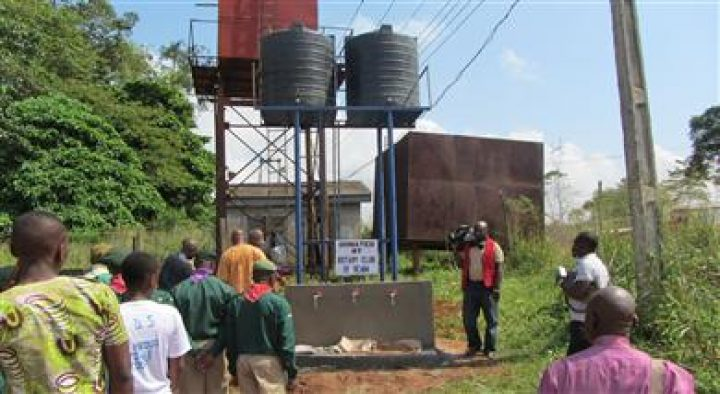 BOREHOLE AT OGBA SCOUT CAMP