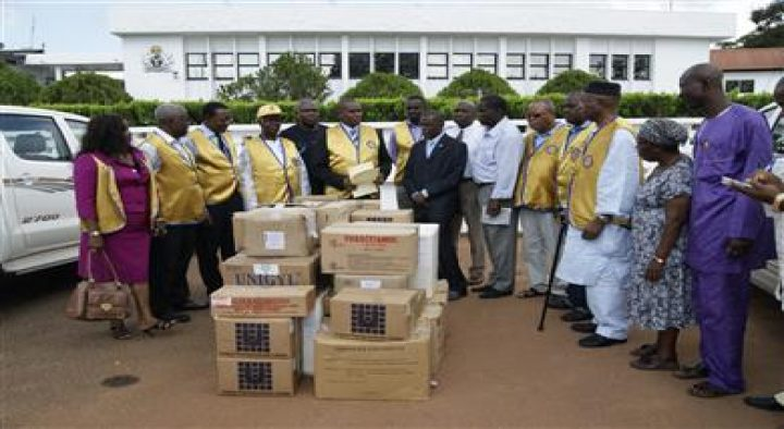 DONATION OF DRUGS TO FLOOD VICTIMS
