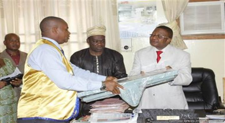 DONATION OF INCUBATORS TO CENTRAL HOSPITAL