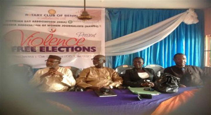 Public Lecture towards a Violence Free Elections