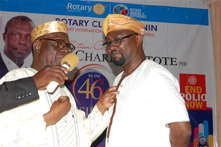 Induction of Honorary Rotarians