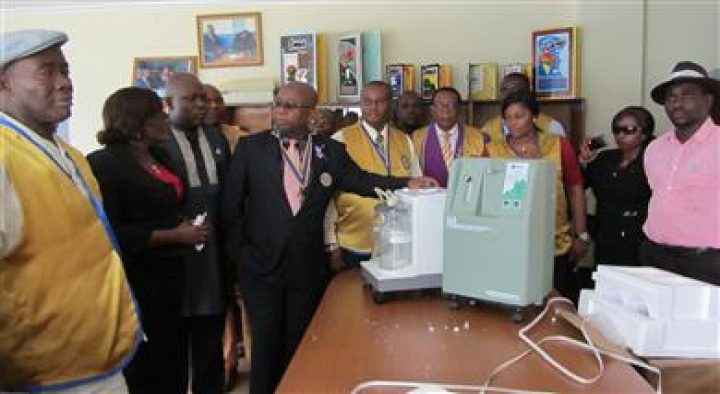 DONATION OF MEDICAL EQUIPMENTS TO HOSPITAL