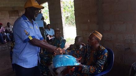 Distribution of Insecticides and Treated Nets