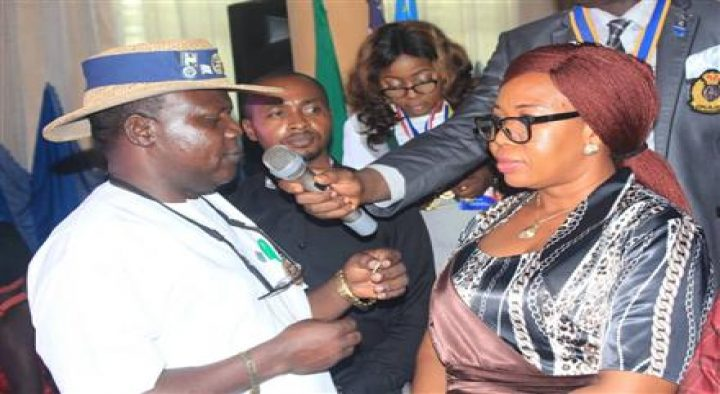 Induction of New Members by Rotary Club of Benin