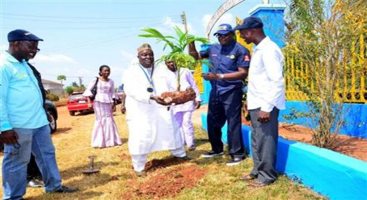 Rotary Club of Benin Park and Garden Renovations