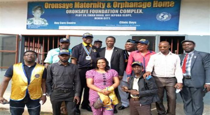 Visitation to an orphanage home