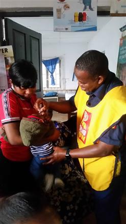 Immunization exercise towards eradicating polio