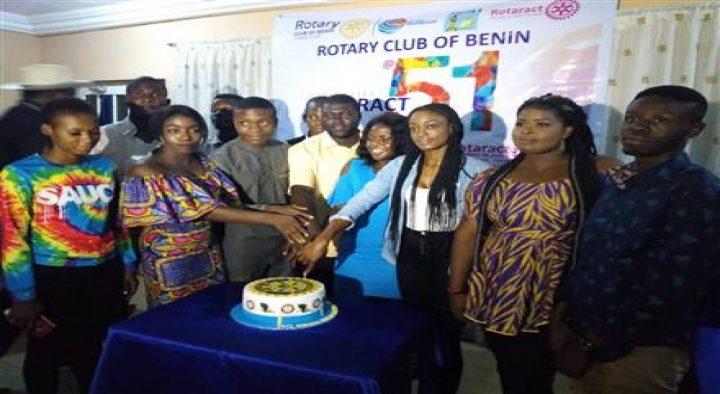 Rotary Club of Benin celebrates Rotaract at 51