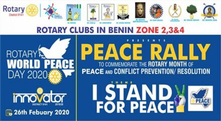Walk for Peace Rally