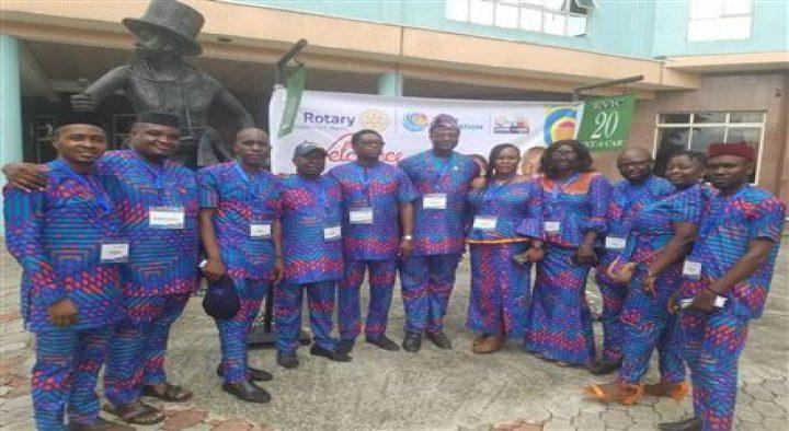 Rotary Club of Benin had Awards at the DISCON