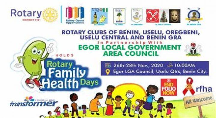 ROTARY FAMILY HEALTH WEEK